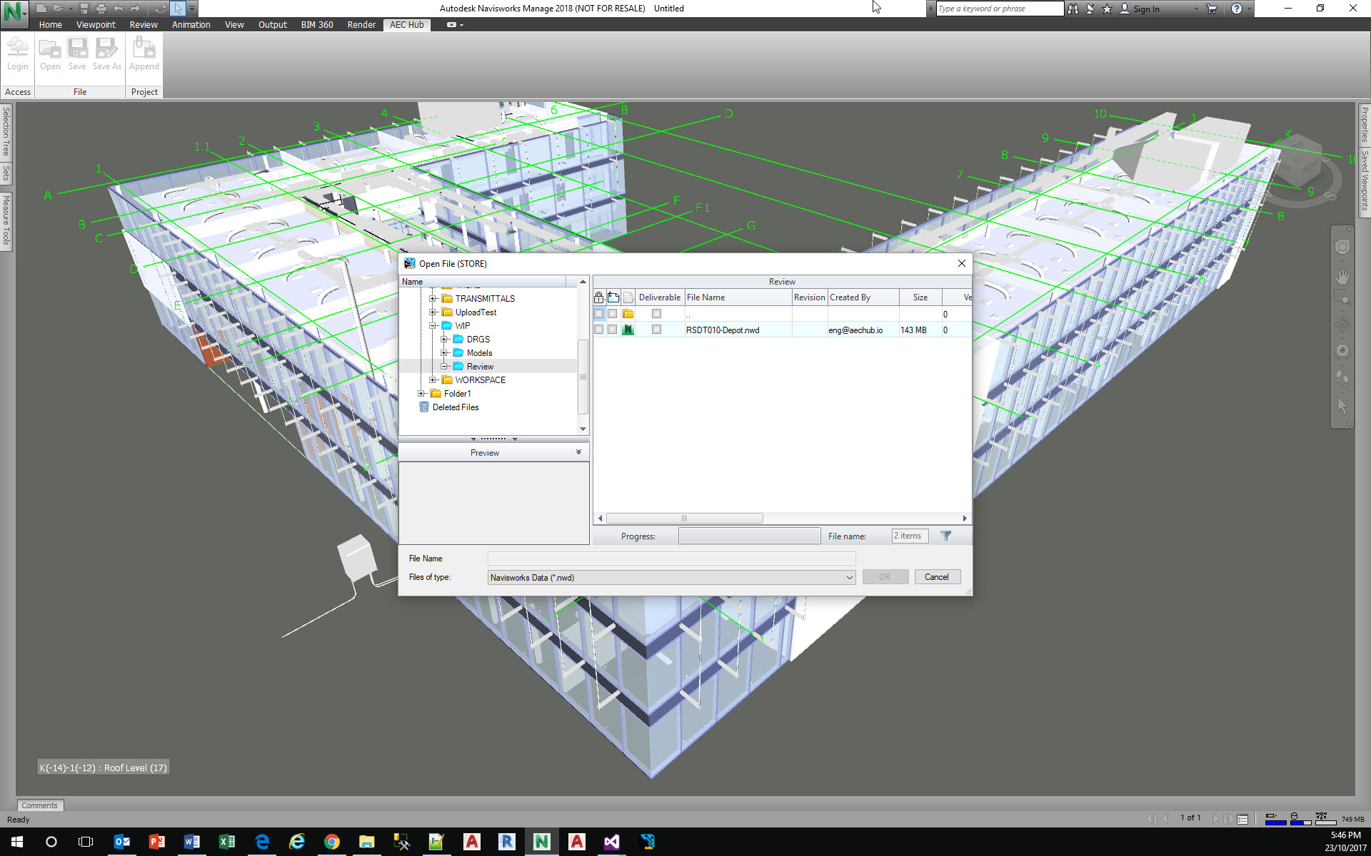 Navisworks Integration